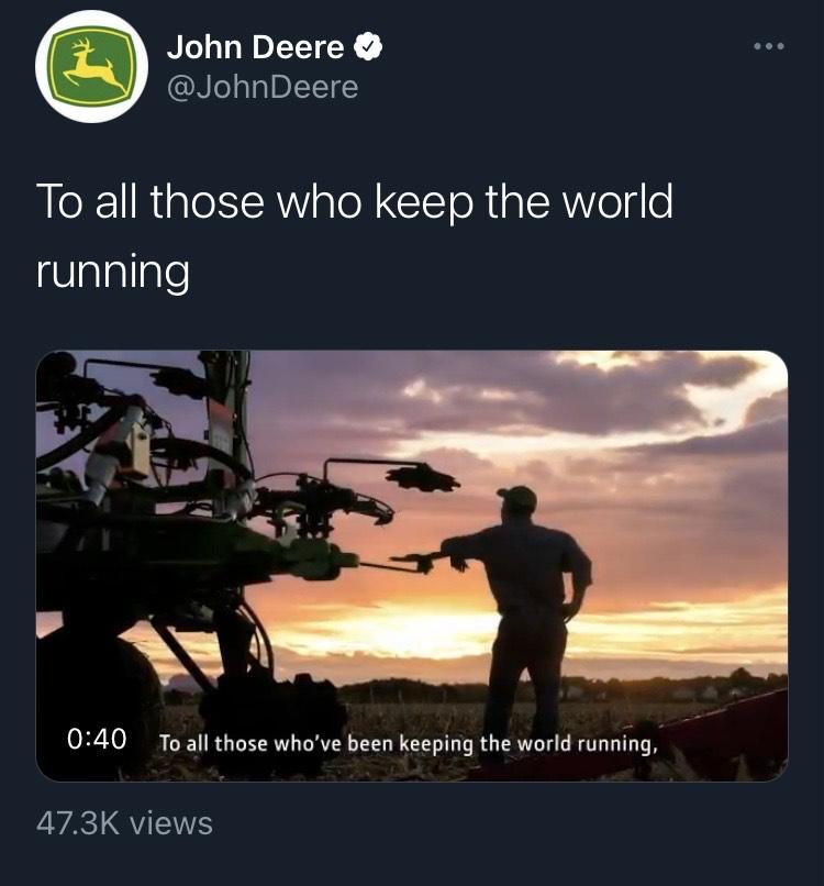 John Deere Social Media